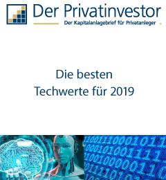 Gratis-Report: Die besten Techwerte 2019